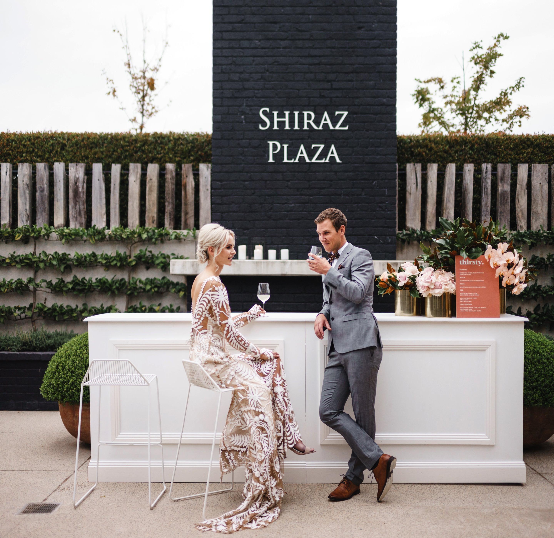Beresford Estate Wines wedding cocktail bar